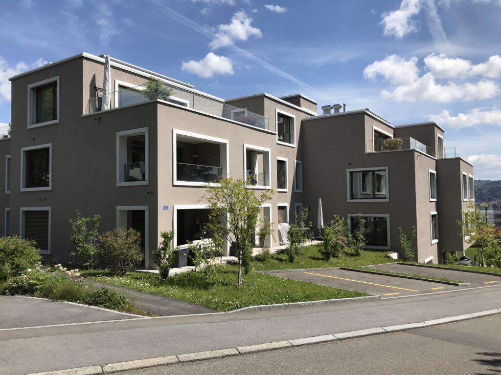 Mehrfamilienhäuser an der Bodengasse in Rüschlikon